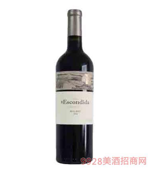 阿根廷安第斯解百纳红葡萄酒13度