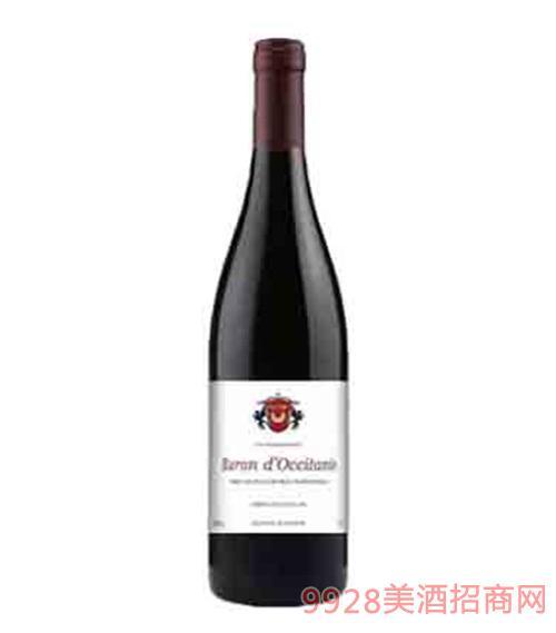 法国欧美欧尚旗下欧丹尼男爵干红葡萄酒