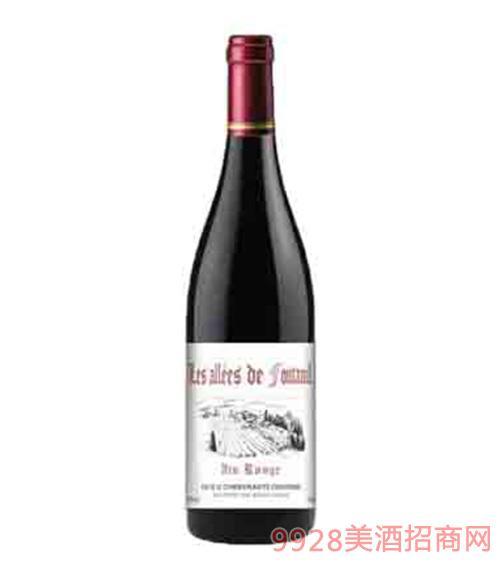 法国枫丹庄园红葡萄酒