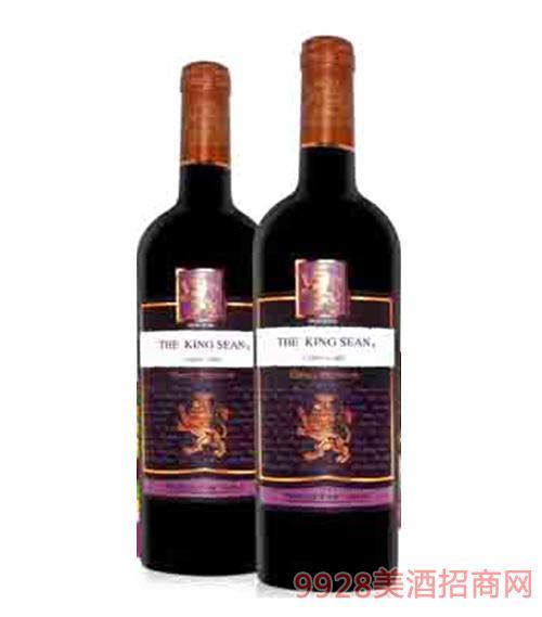 智利肖恩王经典佳美娜红葡萄酒