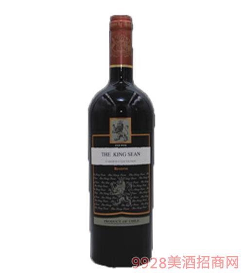 智利TheKingSean红葡萄酒