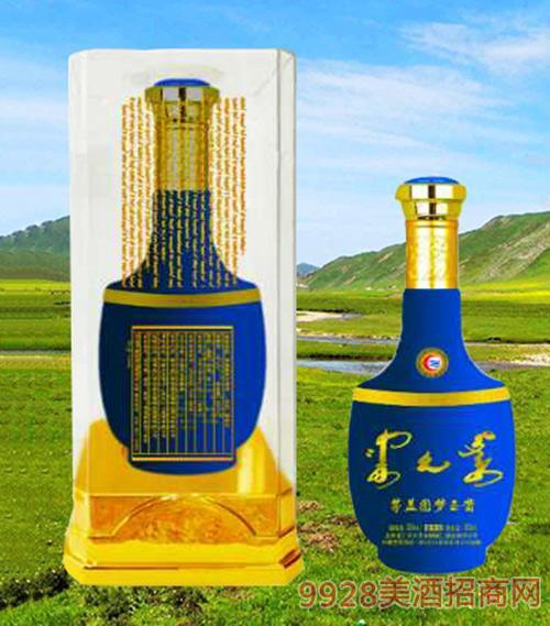 茅盖图梦玉酱酒(蓝)