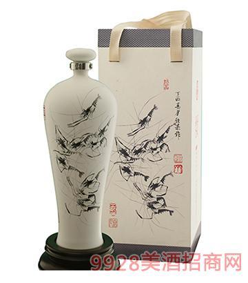 春夏秋冬酒(墨虾图)