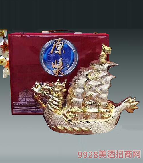 龙船原浆陶瓷酒