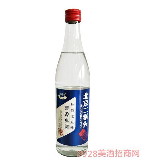 京德旺北京二��^��窖藏42度500ml