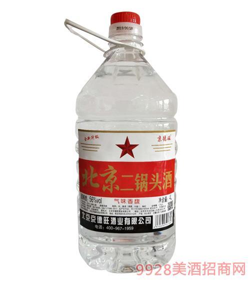 京德旺北京二锅头56度4L