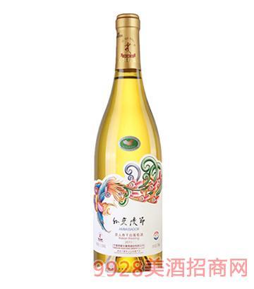 外交使节贵人香干白葡萄酒2011
