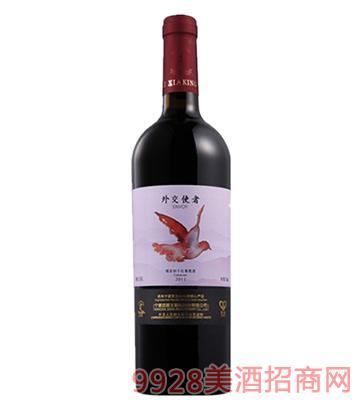 外交使者噶百纳干红葡萄酒2011
