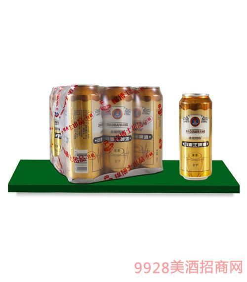水城明珠小麦王啤酒490mlx9罐(塑包)