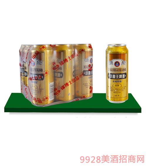 水城明珠小麦王啤酒塑包490mlx9罐
