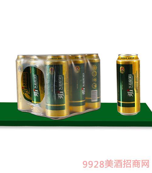 劲+头道原浆酒500mlx9罐
