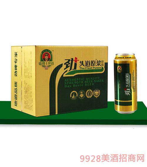 劲+头道原浆酒500mlx12罐