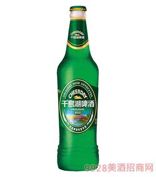 千島湖啤酒9度500ml原生態