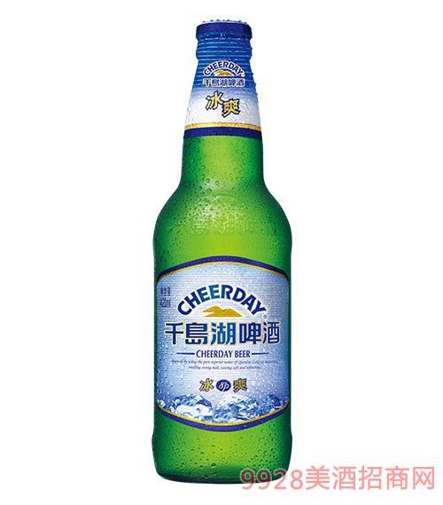 千島湖啤酒8度420ml冰爽