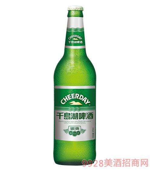 千岛湖啤酒8度570ml银爽