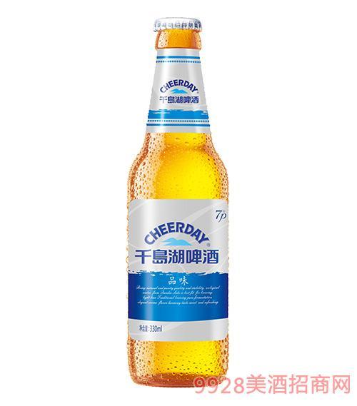 千岛湖啤酒7度330ml品味