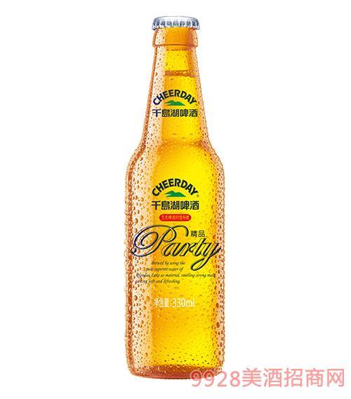 千岛湖啤酒8度330ml精品