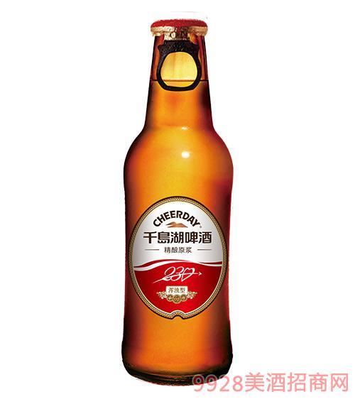 千�u湖精�原�{啤酒9度230ml