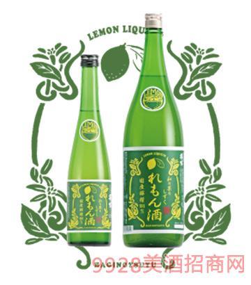 萩乃露柠檬酒