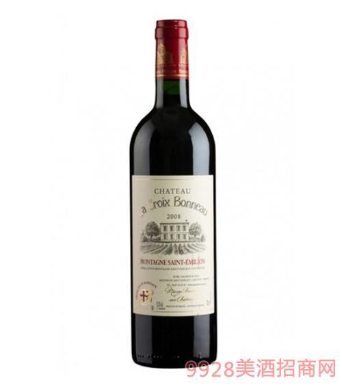 宝诺十字酒庄红葡萄酒2008