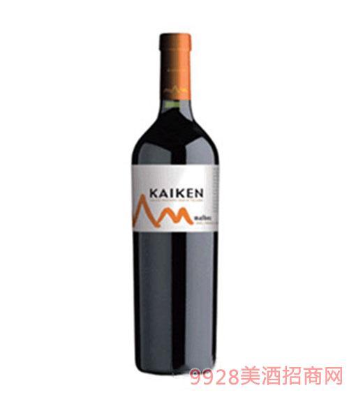 阿根廷开肯马尔贝克红葡萄酒