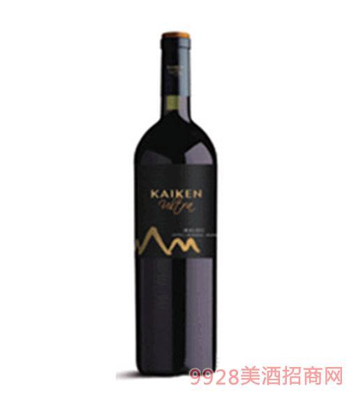 阿根廷开肯极 品玛尔贝克干红葡萄酒