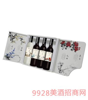 王朝礼颂系列葡萄酒礼盒装