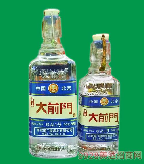 北京大前�T酒珍品1�43度505ml