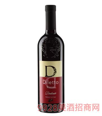 D系列迪丽红干红葡萄酒
