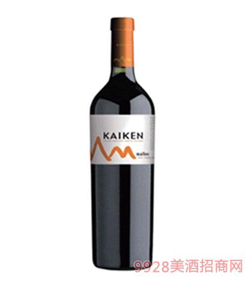 開肯馬爾貝克紅葡萄酒