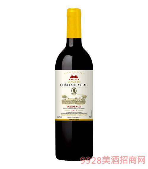 国信尤尼斯卡索古堡干红葡萄酒14.5度750ml