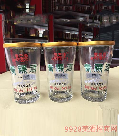 康巴缘青稞酒100ml口杯