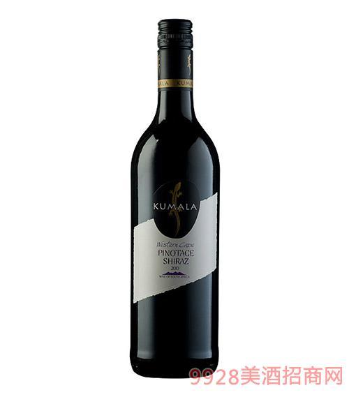 南非库玛拉红葡萄酒原瓶进口红酒