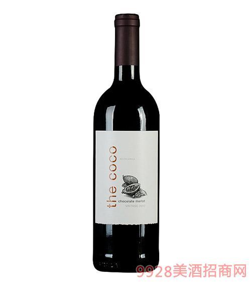 南非可可豆红葡萄酒