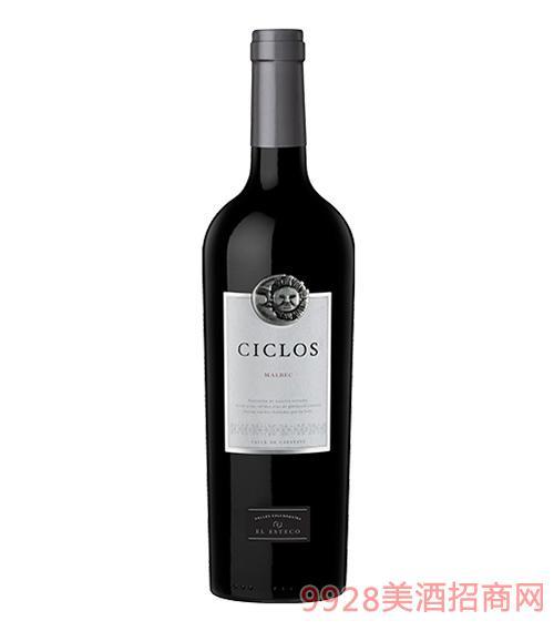 周期马尔贝克红葡萄酒