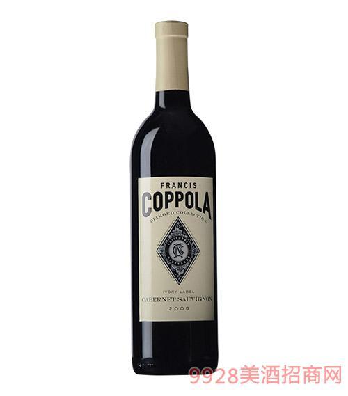 美国柯波拉钻石精选赤霞珠红葡萄酒