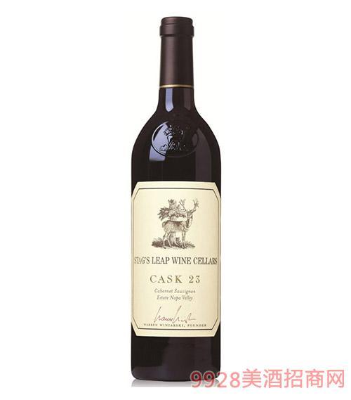 美国鹿跃酒庄窖藏23加本力苏维翁红葡萄酒2006