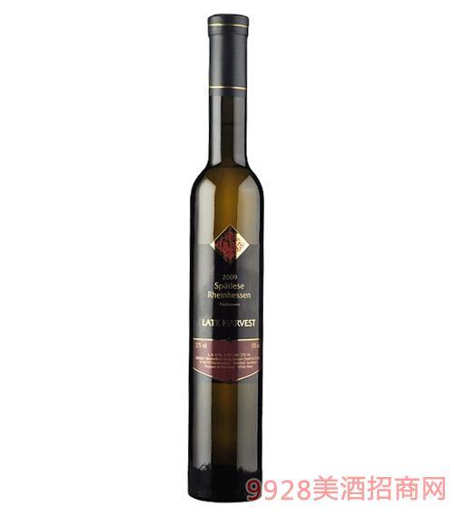 德国艾瑞诗迟摘甜白葡萄酒