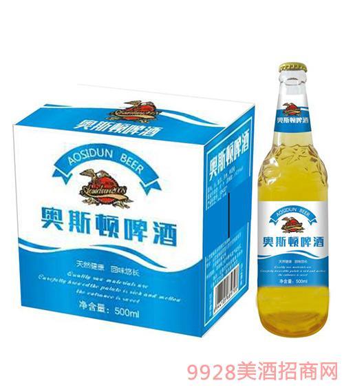 奥斯顿啤酒蓝标500ml