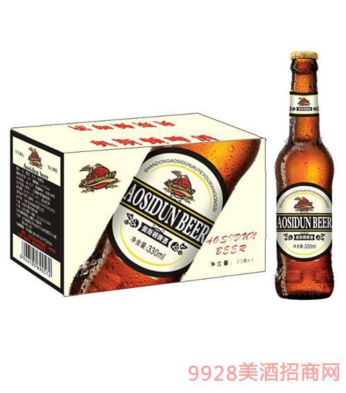 奥斯顿啤酒330ml棕瓶