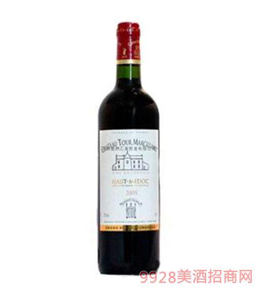 上梅多克中级酒庄玛希兰塔古堡干红葡萄酒