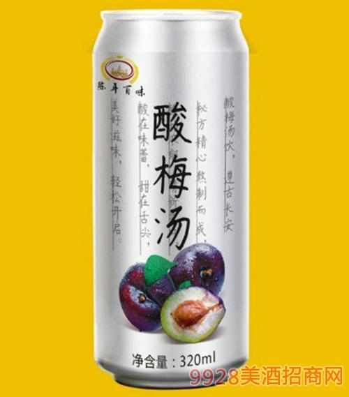 陈年百味酸梅汤320ml