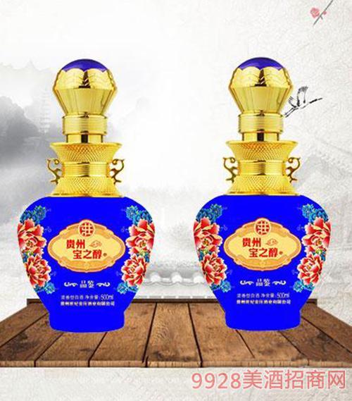 宝之醇酒52度500ml-蓝