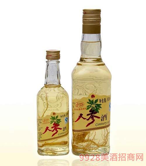 人参酒光瓶500ml