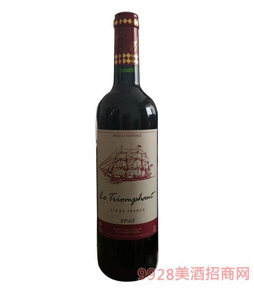 法国皇家帆船干红葡萄酒