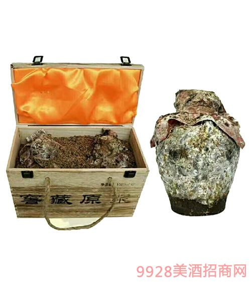 窖藏老酒窖藏原浆酒木箱