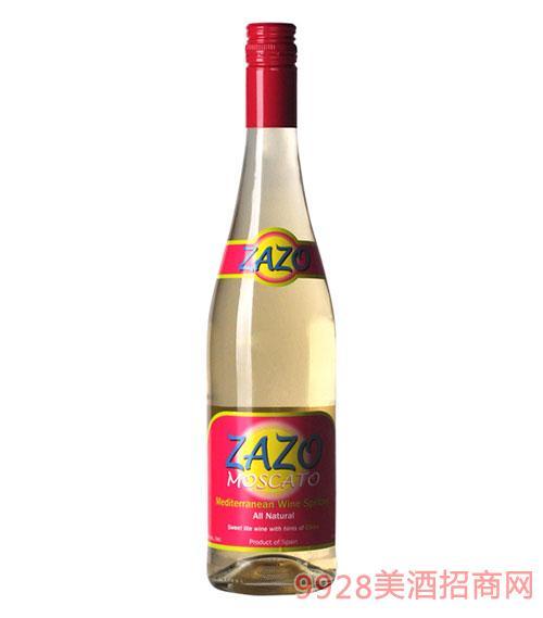 西班牙萨索起泡低醇白葡萄酒