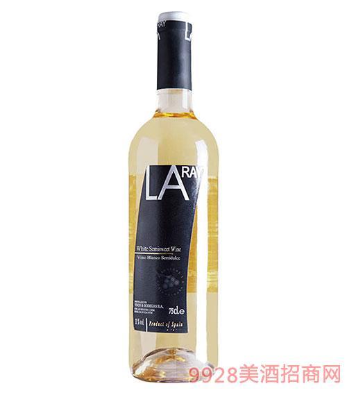 西班牙拉伊尔半甜白葡萄酒
