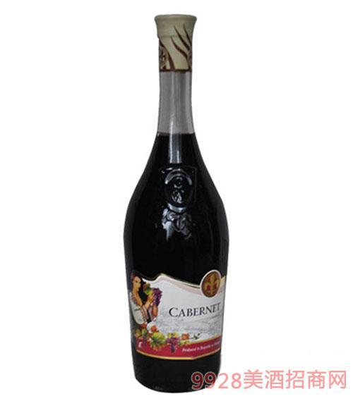 多伊娜赤霞珠半甜红葡萄酒