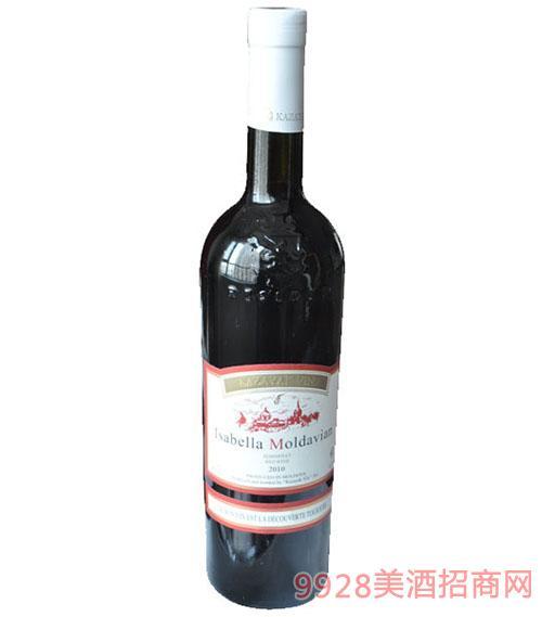伊莎贝拉半甜红葡萄酒